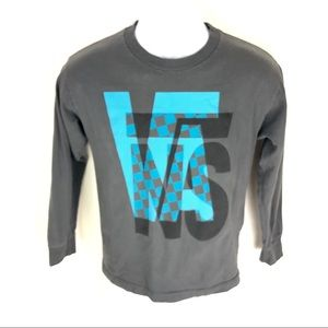 Vans Men's Gray L/S T-Shirt M